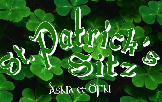 St. Patrick's Day - Sitz med ÖFN och ÅsNa