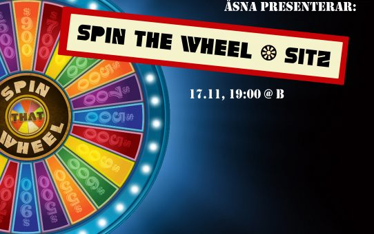 """Spin the Wheel"" -sitz"