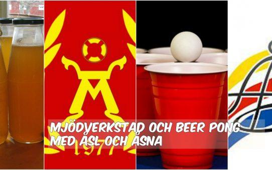 Möjdverkstad och Beer-pong turnering med ÅsNa & ÅSL