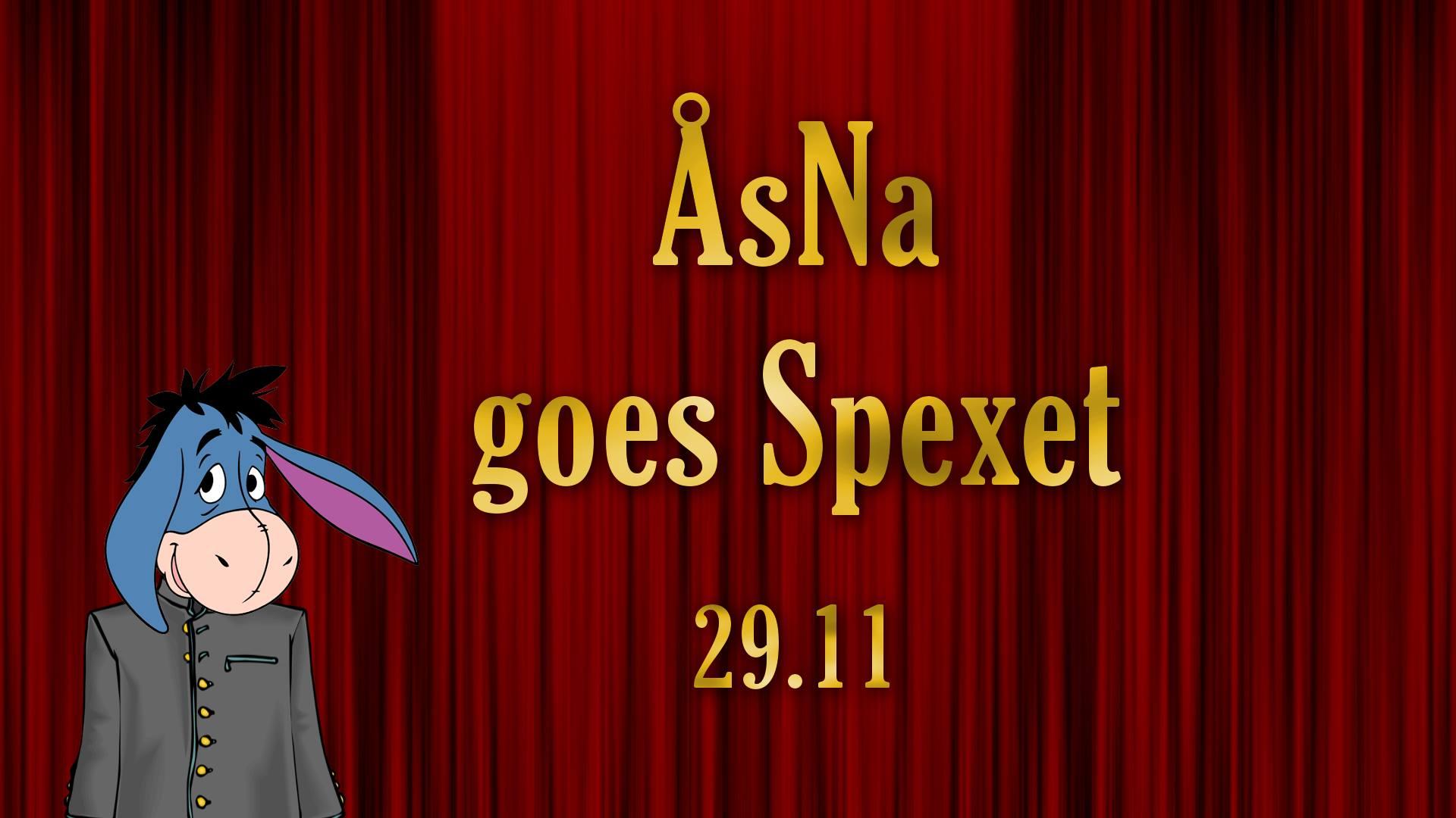 ÅsNa goes Spexet