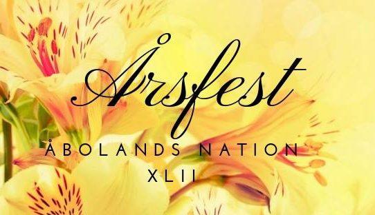 ÅsNa XLII årsfestvecka