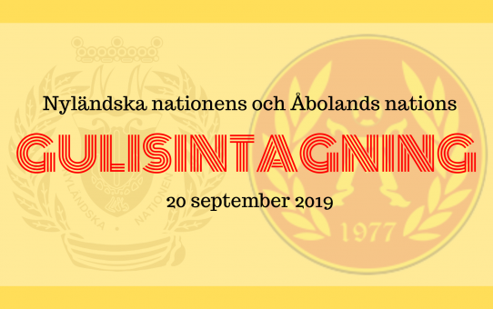 Gulisintagning med ÅsNa och NN